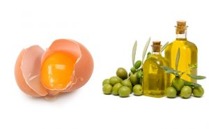 Egg and Olive Oil for Hair