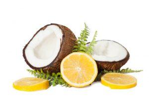 Lemon Juice and Coconut