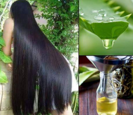 Homemade oil for long hair